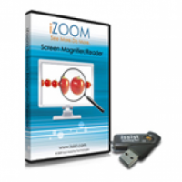 iZoom Screen Magnifier / Reader